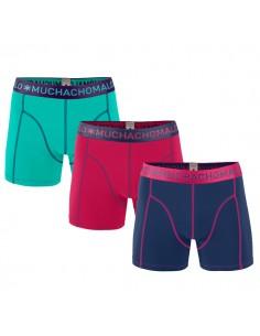 MuchachoMalo Solid 167 3Pack Heren Boxershorts