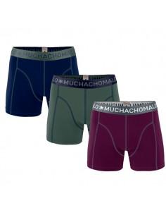 MuchachoMalo Solid 168 3Pack Heren Boxershorts