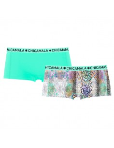 ChicaMala Short WildLife 2Pack