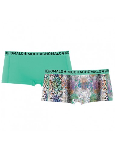 MuchachoMalo Wildlife Short 2Pack Dames Ondergoed