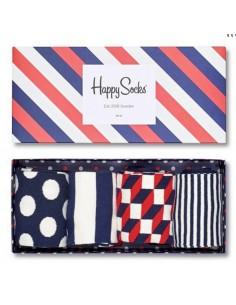 Happy Socks Giftbox stripe 41-46