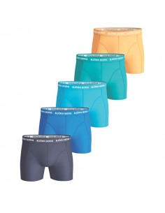 Björn Borg Boxershorts 5Pack Seasonal Solids Peacoat