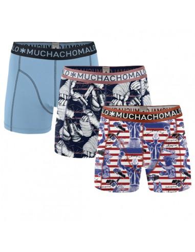 MuchachoMalo Sharkx 3Pack Heren Boxershorts