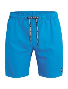Björn Borg Zwembroek Loose Shorts Electric Blue Lemonade
