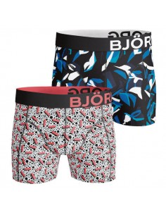 Björn Borg Short 2Pack BB Rectangual Blue