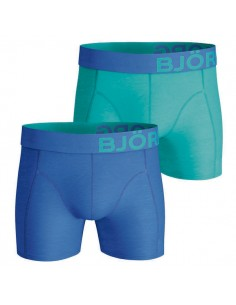 Björn Borg Short 2Pack BB Blue Green