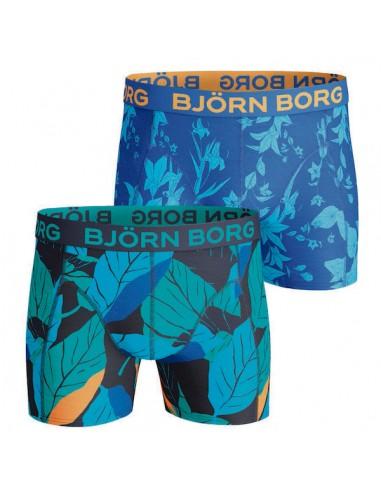 Bjorn Borg 2Pack BB print print flowers Boxershorts Jongens Ondergoed
