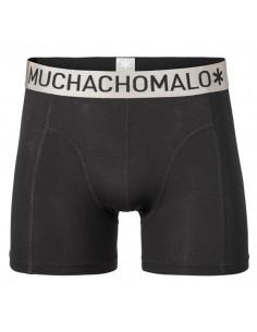 MuchachoMalo Modal Black Solid Heren Boxershort