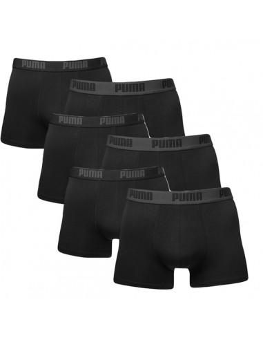Puma Boxershort 6 pack Zwart
