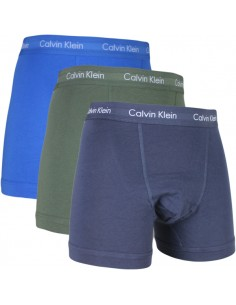 Calvin Klein Ondergoed color mix  3 Blue Green long trunk