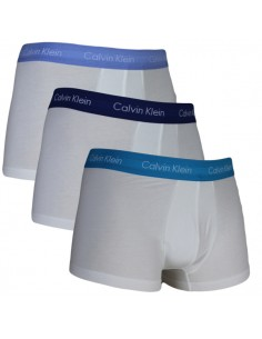 Calvin Klein Ondergoed 3 pack White Color band boxer low rise trunk