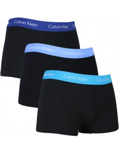 Calvin Klein Ondergoed 3 pack Blue Black styles low rise trunk