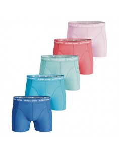 Björn Borg Boxershorts 5Pack Seasonal Solids Summer breeze