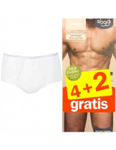 Sloggi Men Basic maxi wit 4+2 Gratis 6 pack