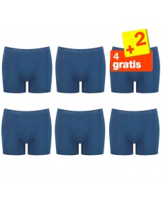 Sloggi Men Short Evernew blauw 4+2 Gratis 6 pack