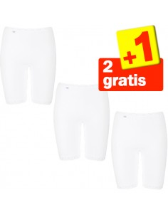 Sloggi Basic Long wit 2+1 gratis 3 pack