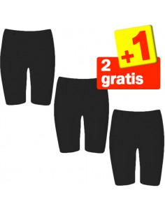 Sloggi Basic Long zwart 2+1 gratis 3 pack