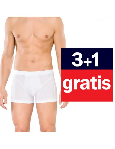 Schiesser Long life Shorts 4Pack wit 3+1 gratis