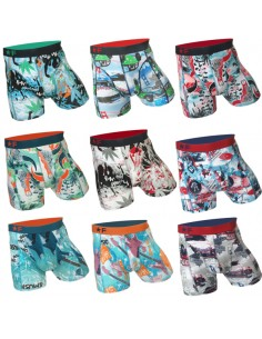 Funderwear Mixed Dark Fun days 9 Pack