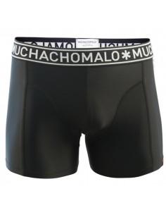 MuchachoMalo Heren Zwembroek Strak Zwart