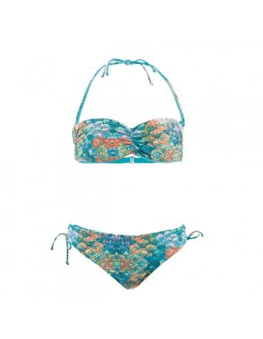 ChicaMala Bikini Bandeau Mermaid Reversible