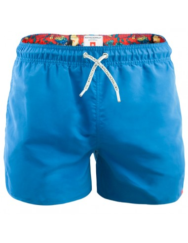 MuchachoMalo Jongens Zwembroek Boardshort Blue Solid