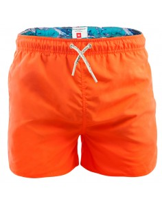 MuchachoMalo Jongens Zwembroek Boardshort Orange Solid