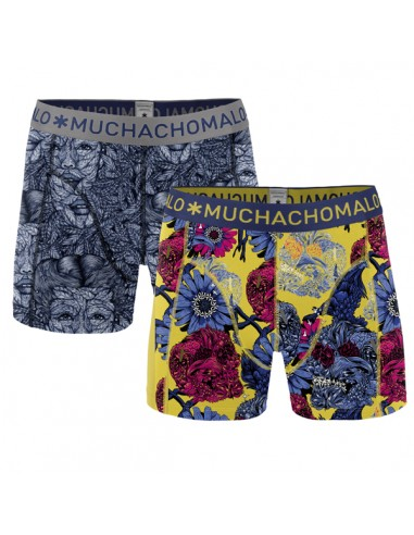 MuchachoMalo Leaf 2Pack Heren Boxershorts