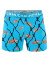 MuchachoMalo Cotton Modal Fish 2Pack Heren Boxershorts