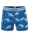 MuchachoMalo Cotton Modal Fauna 2Pack Heren Boxershorts