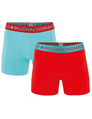 MuchachoMalo Solid 180 Bright Red Blue 2Pack Kinder Ondergoed