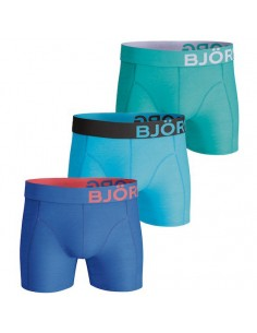 Björn Borg Boxershorts 3Pack Seasonal Solids Directoire Blue