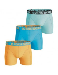 Björn Borg Boxershorts 3Pack Seasonal Solids Blazing Orange
