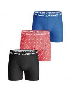 Bjorn Borg 3Pack Boys BB Dot Dubarry Boxershorts