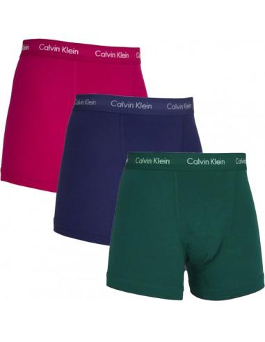 Calvin Klein Ondergoed 3 Roze groen blauw