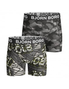 Bjorn Borg 2Pack BB Identity & Camoline Zwart