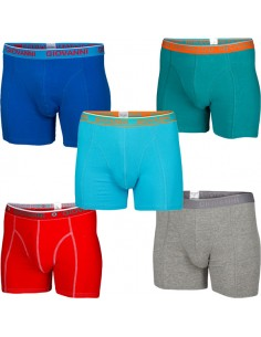 Giovanni Boxershorts MORTAR 5Pack Heren Ondergoed