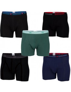 Giovanni Boxershorts BRICKS 5Pack Heren Ondergoed