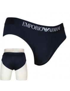 Emporio Armani Slip Brief Microfiber Blauw
