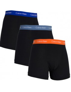 Calvin Klein Ondergoed color mix  3 pack blue orange blue long trunk