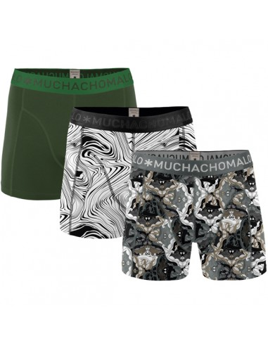 MuchachoMalo 3Pack OPTICAL ARTS Heren Boxershorts