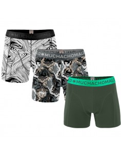 MuchachoMalo 3Pack OPTICAL ARTS Jongens Boxershorts