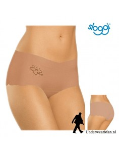 Sloggi Invisible Light Cotton Short Huidskleur