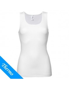 Ten Cate Thermo Dames Singlet Wit