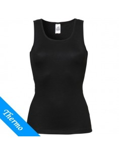 Ten Cate Thermo Dames Singlet Zwart