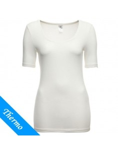 Ten Cate Thermo Dames T-Shirt Wit