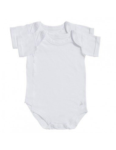Ten Cate Baby Romper 2Pack Wit Unisex
