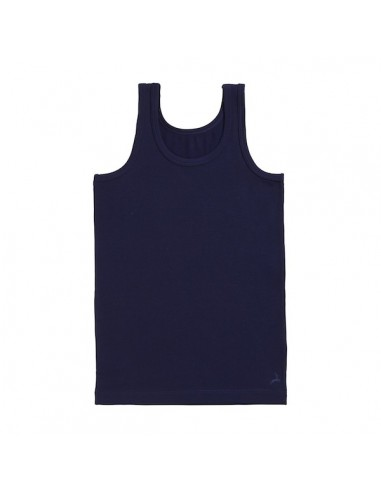 Ten Cate Jongens Hemd Deep Blue 2-6Y
