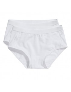 Ten Cate Meisjes Brief Slip 2Pack Wit 2-6Y