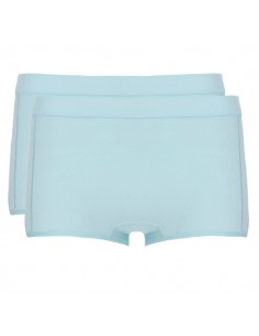Ten Cate Meisjes Short 2Pack Iced Aqua 13-18Y Teens